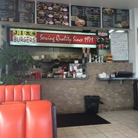 Photo taken at Jim's Burgers #2 by Mark W. on 5/25/2016
