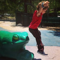 Photo taken at Roxbury Memorial Park by Mark W. on 5/12/2013
