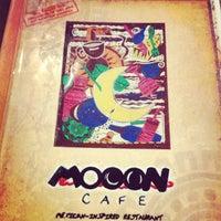 Photo taken at Mooon Café by Esti on 3/11/2013