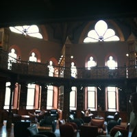 Photo taken at Firestone Library by Wade H. on 10/4/2012