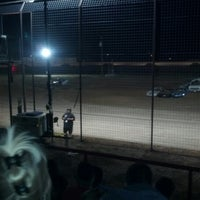 Photo taken at El Paso Speedway Park by Mike P. on 10/14/2012