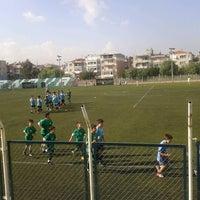 Photo taken at Bornova Stadı by Çiğdem A. on 11/3/2012