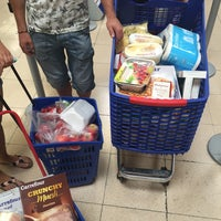 Photo taken at Carrefour by Nathalie S. on 7/27/2015