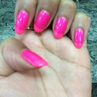 Photo taken at Pure Nail Salon by ericamichele h. on 3/16/2014