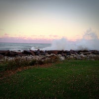 Photo taken at Racine Lakefront by Dora H. on 10/29/2012