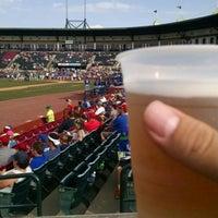 Photo taken at Whitaker Bank Ballpark by Brent M. on 6/21/2016