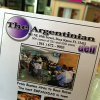 Photo taken at The Argentinian Deli by Jason W. on 3/14/2013
