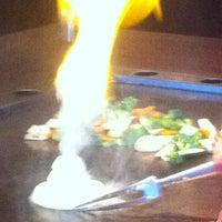 Photo taken at Kobe Japanese Steak House by Desi B. on 3/1/2013