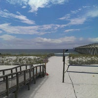 Photo taken at Navarre pier restaurant by Brent B. on 7/14/2013