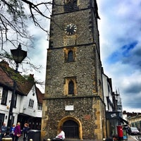 Photo taken at St Albans Clock Tower by Tülay M. on 5/19/2016