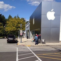 Photo taken at Apple Suburban Square by Orig P. on 9/20/2012