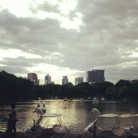 Photo taken at Lumphini Park by FilmPolaroid's h. on 7/22/2013