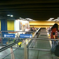Photo taken at Metro Los Héroes by Monserrat S. on 9/28/2012