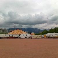 Photo taken at Luna Park by Iakov E. on 4/21/2013