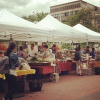 Photo taken at Copley Square Farmer's Market by Alice P. on 6/4/2013