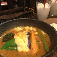 Photo taken at Soup Curry lavi エスタ(ESTA)店 by Arisa S. on 7/25/2013