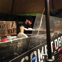 Photo taken at The Comet Hot Dog Stand by Joy U. on 11/11/2012