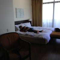 Photo taken at Hotel Sentral Seaview by EjanRais on 2/1/2013