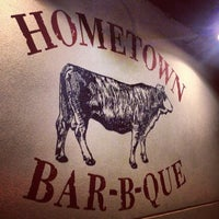 Photo taken at Hometown Bar-B-Que by Rev C. on 10/5/2013