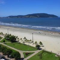 Photo taken at Praia do José Menino by Fernando O. on 11/24/2012