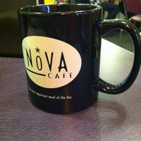 Photo taken at Nova Cafe by Carrie on 12/31/2012
