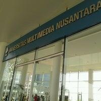 Photo taken at Universitas Multimedia Nusantara by Eko popeye P. on 10/23/2012