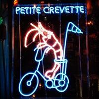 Photo taken at Petite Crevette by Amanda D. on 10/4/2012