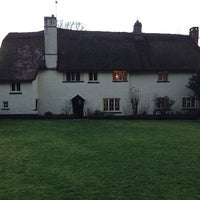 Photo taken at THE PIG - at Combe by Giles K. on 12/27/2013