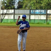Photo taken at Campo Baseball Blue Jays by Sérgio B. on 5/25/2013