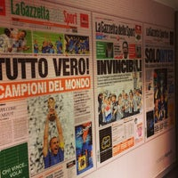 Photo taken at Gazzetta Store by Gianluca on 10/25/2014