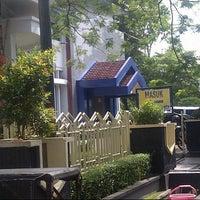 Photo taken at Bank BTN by Idonx R. on 11/26/2012