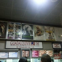 Photo taken at Cines Guadalquivir by Jose .. on 10/12/2012