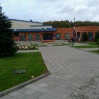 Photo taken at Бассейн «Радужный» by Ivan K. on 10/1/2012