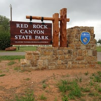 Photo taken at Red Rock Canyon State Park by Michelle S. on 5/17/2013
