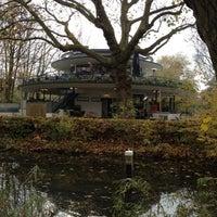 Photo taken at 't Blauwe Theehuis by Manuel P. on 11/15/2012