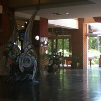 Photo taken at Camino Real Hotel by Pablo O. on 10/16/2012