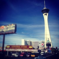 Photo taken at Stratosphere Casino, Hotel & Tower by Adi on 3/15/2013