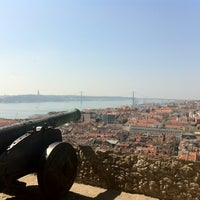 Photo taken at São Jorge Castle by Andrea G. on 10/5/2012