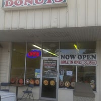 Photo taken at Hole In One Donuts by Ben O. on 11/12/2012