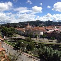 Photo taken at Hostal Casa del Barranco by Jorge A. on 12/27/2014