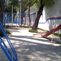Photo taken at Parque José Mariano Muciño by Raul S. on 10/8/2012