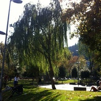Photo taken at Bebek Parkı by Şenay U. on 10/13/2012