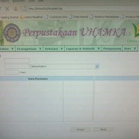 Photo taken at Universitas Muhammadiyah Prof. Dr. Hamka by Fajarzoen C. on 10/29/2013