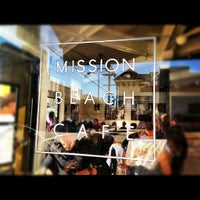 Photo taken at Mission Beach Cafe by Gustavo P. on 11/4/2012
