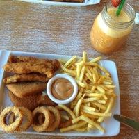 Photo taken at Timboo Cafe by Aysu T. on 10/14/2012