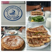Photo taken at Dost Pide & Pizza by Ilkem K. on 9/9/2013