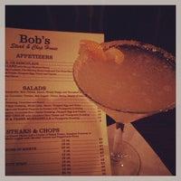 Photo taken at Bob's Steak & Chop House by Carolina W. on 2/14/2013