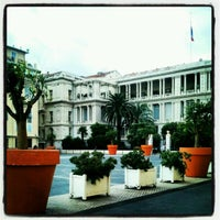 Photo taken at Place Pierre Gautier by RivieraBuzz on 2/10/2013