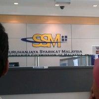 Photo taken at Suruhanjaya Syarikat Malaysia by Angahkota W. on 10/24/2012