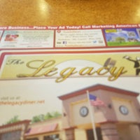Photo taken at Legacy Diner by Shanemichael D. on 4/23/2016